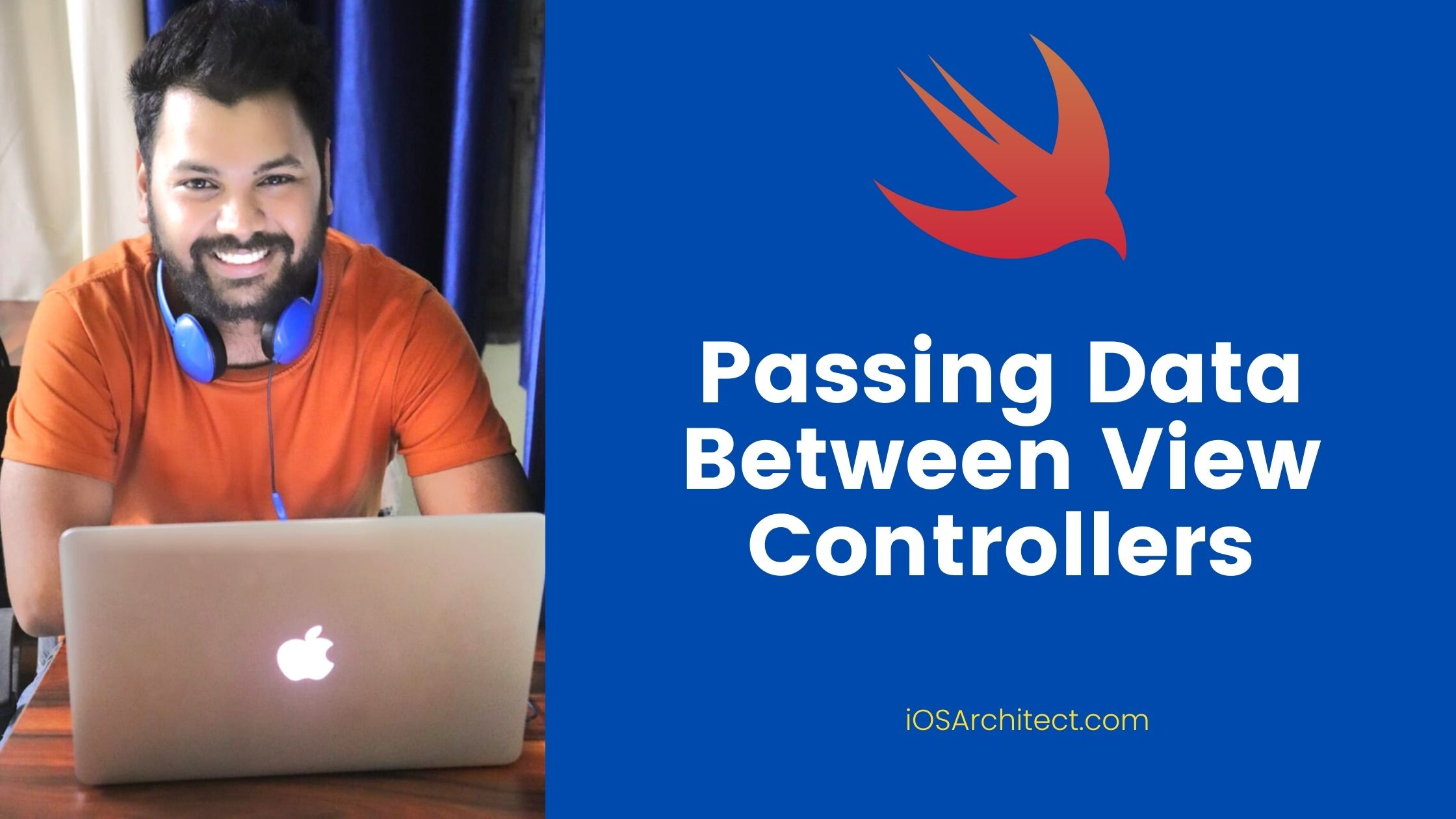 passing data between view controllers