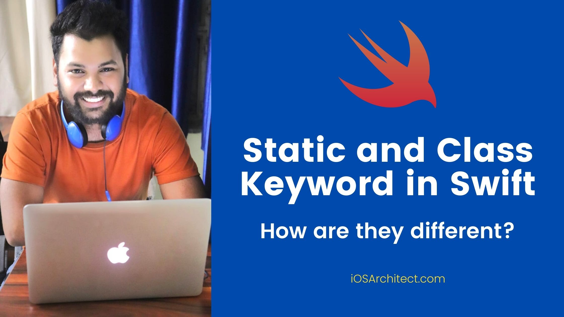static and class keyword in swift