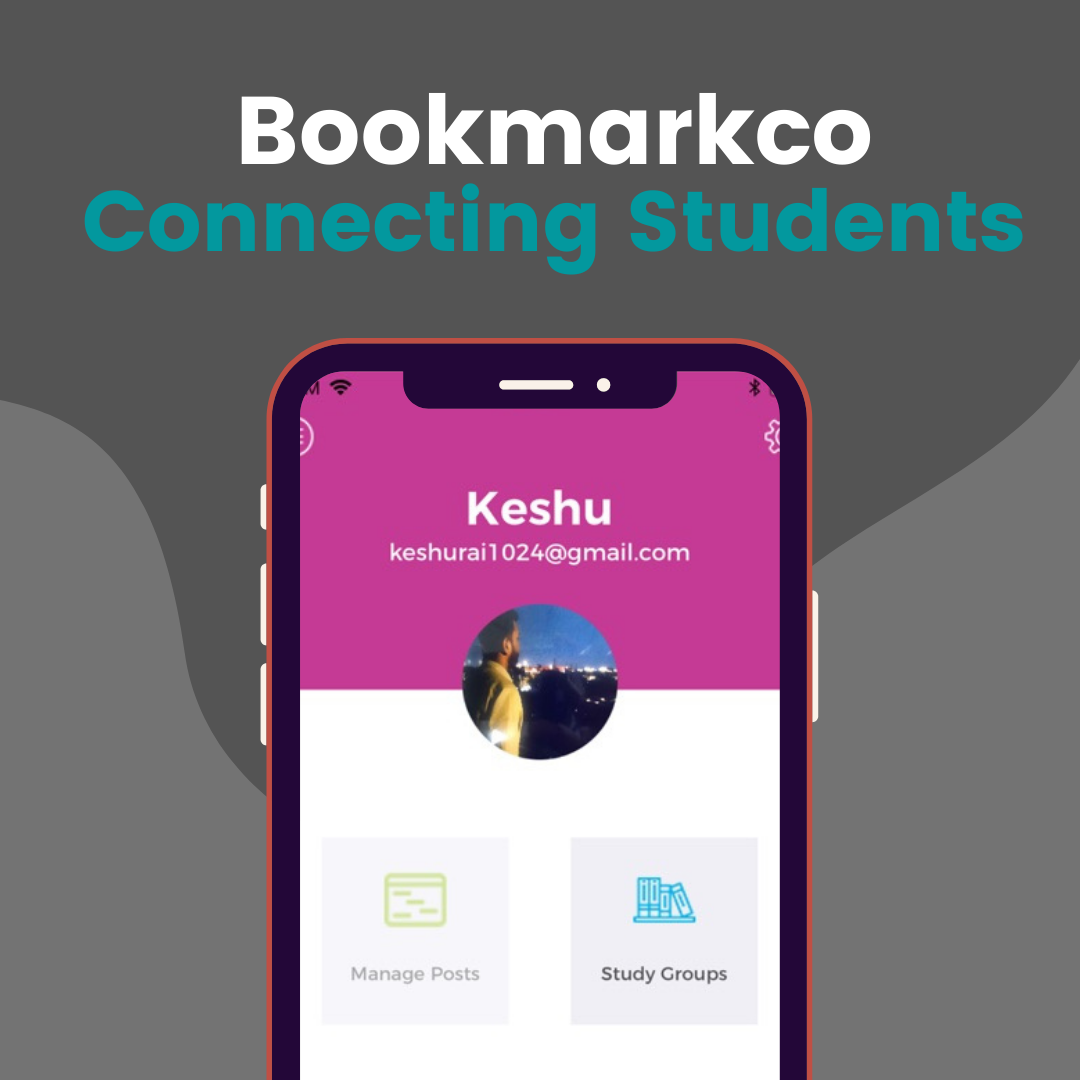 Bookmarkco iOS App – Connecting Students