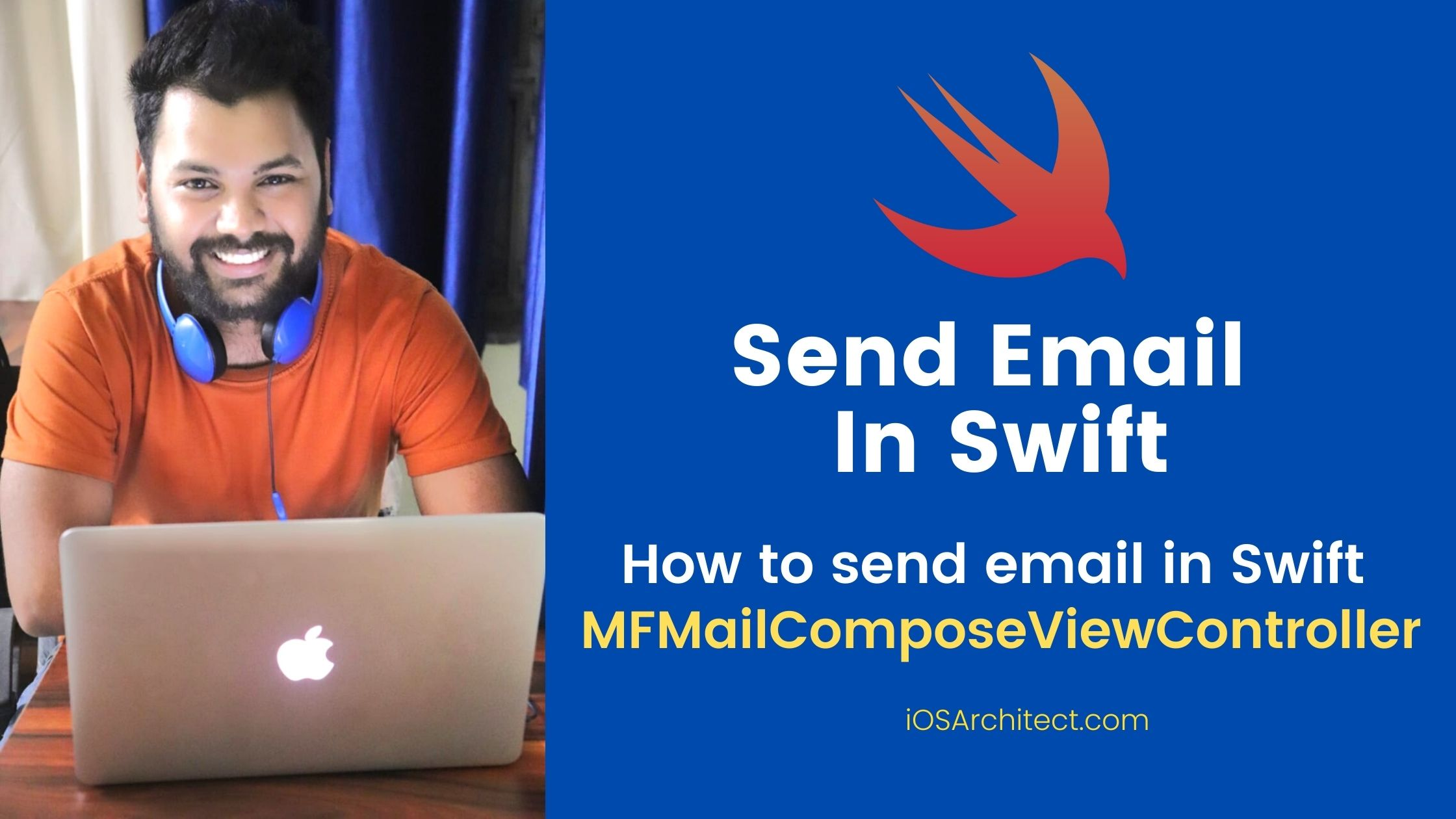 How to send email in Swift MFMailComposeViewController